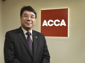 ACCA為大專生設有拔尖計劃,圖為ACCA香港分會會長黃宏泰。