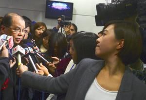 張健宗關注亞視員工的環境20150101劉焌陶攝