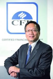 20141015 香港財務策劃師學會行政總裁劉振輝 特輯圖片