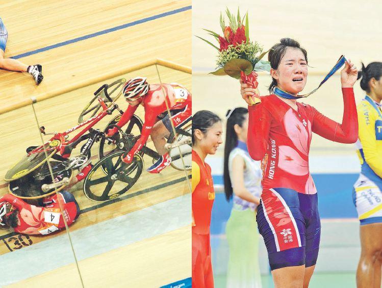 黃家倫印象最深刻的採訪是2010年廣州亞洲運動會,親眼目睹香港單車手黃蘊瑤意外跌下、被尾隨單車輾過再爬起來,最後贏得銀牌的一刻,「她領獎時很激動,我也是!我本就認識她,知道她如何為比賽奮鬥!