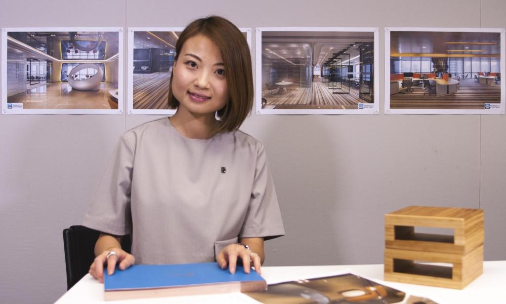 Gloria在家人的影響下,從小已決定以室內設計為終生職業,把心中幻想的空間變成真。