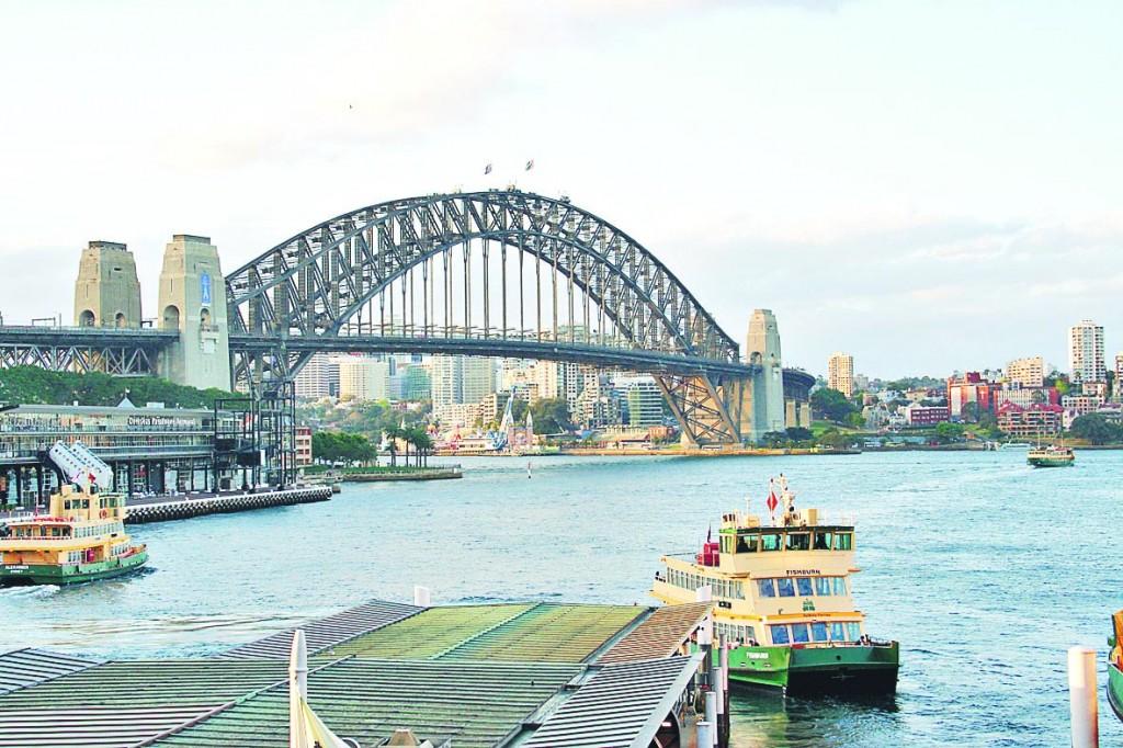 悉尼市地標海港大橋