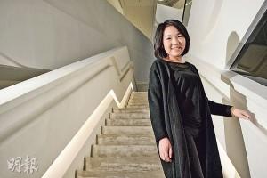 獲頒理大最卓越學生獎的劉嘉淇入讀該校設計學院後明白,設計這回事沒有最好,但不斷改良作品,造出好成績。(馮凱鍵攝)