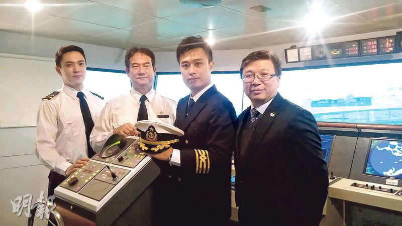 海事學位開班 泳術非必要 任船長或管理 月入可達7萬