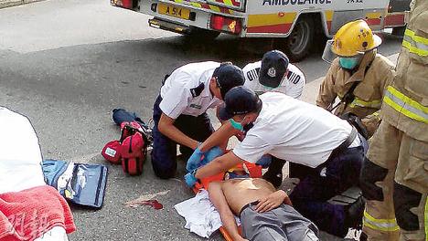 救護工作救急扶危 知識、體能、應變兼備