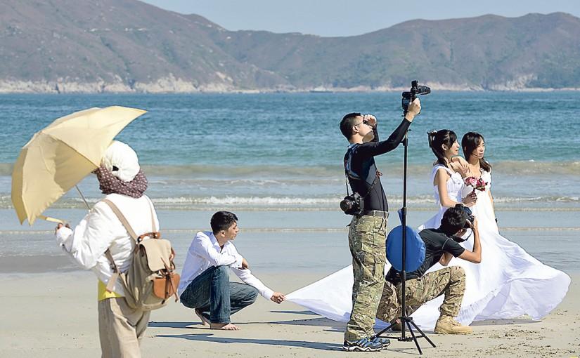 焦點職業:婚紗、婚禮攝影師