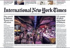 ATUM發起人林亦非過往不少作品也見諸多份西方大報,圖為深圳一條城中村報道。(圖:受訪者提供)