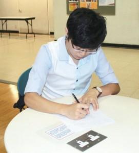 Gary會於補習前備課,按學生的資質和程度制訂學習計劃。