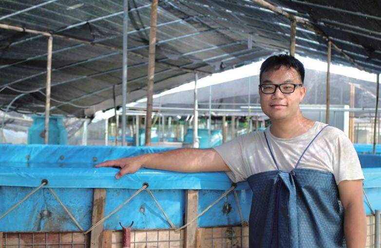 水產養殖: 理想是一行「緣陸求魚」的遠征