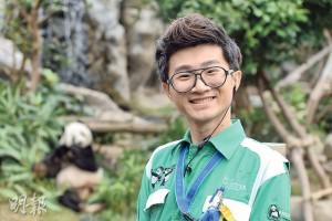 「工作與動物那麼親近,(動物)已經是朋友、家人的一分子。」大熊貓在Matt心中的地位可見一斑。