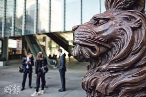 匯豐傳出昨早裁減香港120名員工,全部均為資訊科技(IT)部門,但未知受影響者的年資和職級如何。圖為香港匯豐銀行總行。(資料圖片)