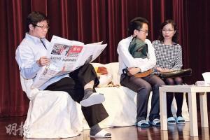 香港撒瑪利亞防止自殺會「生命教育中心」 會到不同學校主持免費講座或劇場,建立學生正確價值觀。(相片由受訪者提供)