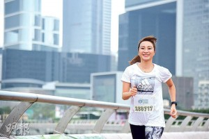 愈跑愈美麗——既是社工,又是媽媽的Joanne,壓力也不少,5年前她開始跑步減壓,果然愈跑愈開心,愈跑愈美麗。