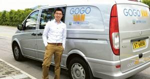 圖為GoGoVan創辦人之一林凱源。(資料圖片)