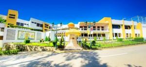 澳門旅遊學院位處於澳門半島望廈上,是一所專門提供旅遊產業方面 的學位課程和培訓的高等院校。(圖片由旅遊學院提供)