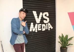 VS MEDIA 為笑波子處理行政及商業合作事宜,令他更能 把握每個工作機會。