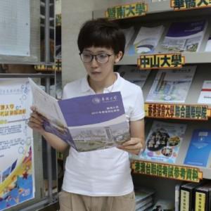 阿Man經過暨南大學、華僑大學兩校聯合舉 辦的招生考試,順利入讀華僑大學。