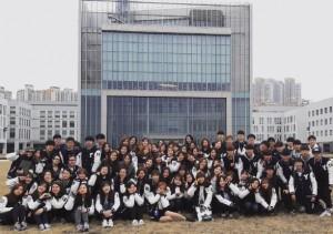 韓國人擁有良好團體精神,不時組織集體活動,Irena也曾參與其 中。(圖片由受訪者提供)