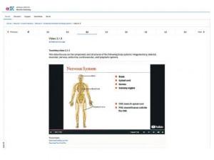 理大最受歡迎的MOOC課程是人體解剖學,學生可透過此課程學習基本概念。有興趣人士可到edX網站建立帳戶,之後便可任意報讀課程。(edX理大人體解剖學課程截圖)