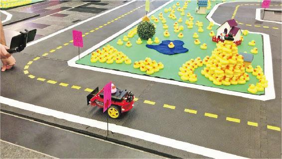 港大生AI車 國際賽奪季