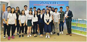 Ryan表示,學科不時有外出參觀活動,曾到訪香港應用科技研究院、科學園等。