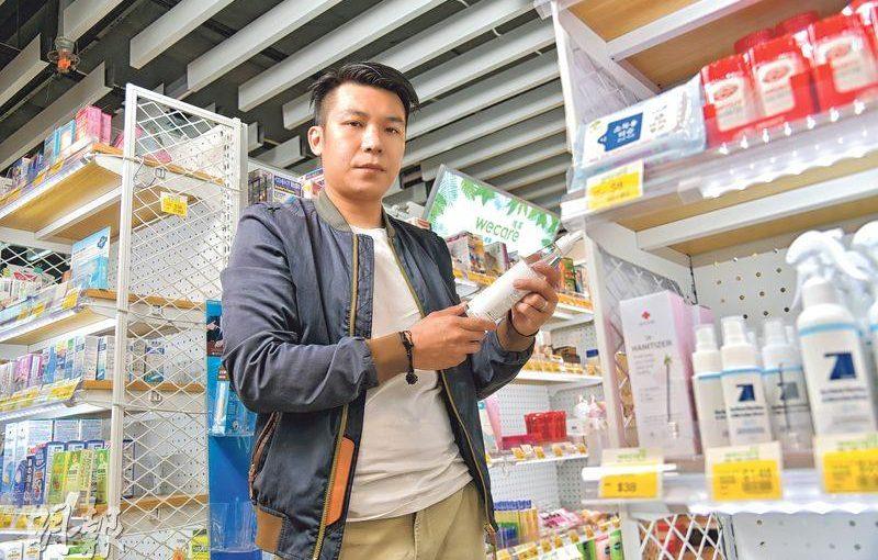 「日本要學一門(料理)手藝,洗碗都要洗3年。」魏戎鈞形容藥房業亦看重浸淫,所以工作首兩年,他每天都在搬貨、理貨、執倉。(黃志東攝)