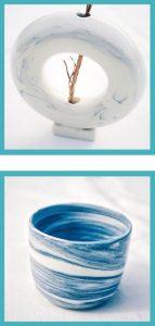 Hazel與朋友合租了工作室開班教授陶瓷技巧,亦有售賣陶瓷餐具及擺設。